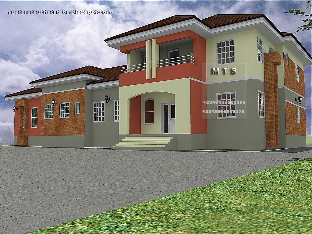 Best 4 Bedroom Bungalow 3 Bedroom Duplex Modern And With Pictures