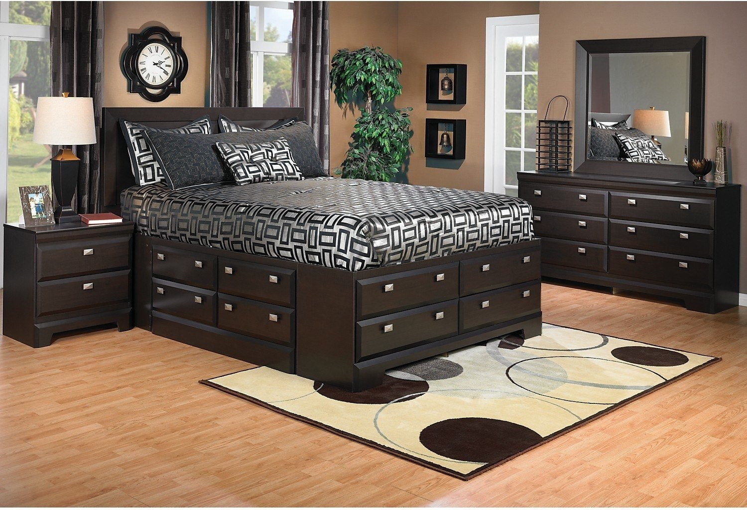 Best Yorkdale 6 Piece Queen Storage Bedroom Package The Brick With Pictures