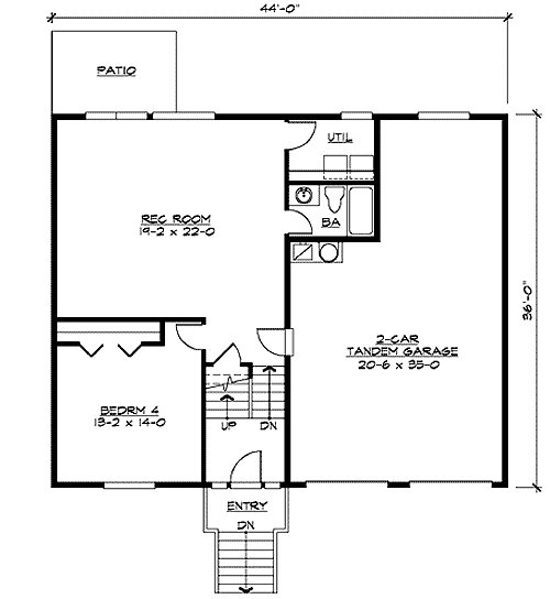 Best Four Bedroom Split Level 23443Jd Architectural Designs With Pictures