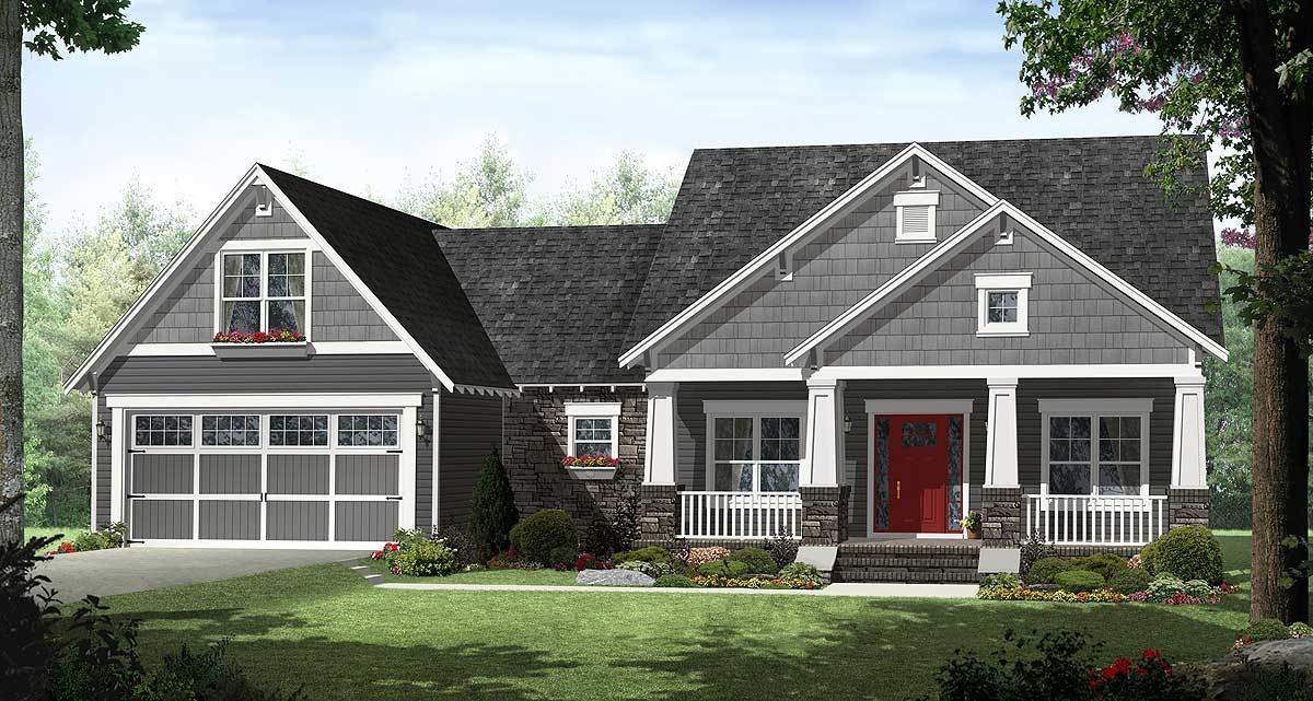 Best 4 Bedroom Craftsman With Smart Looks 51116Mm With Pictures