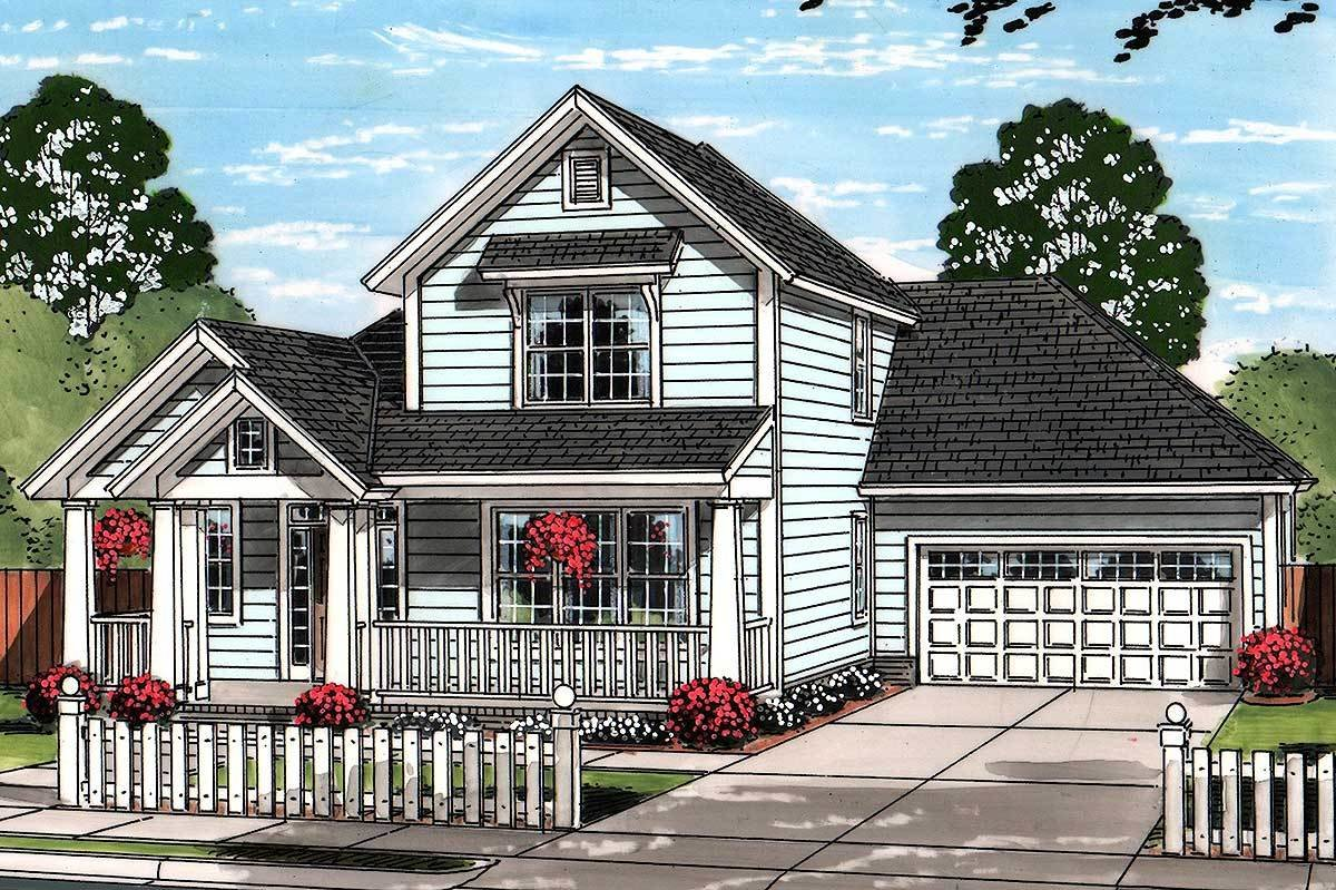 Best First Floor Master Suite 52244Wm Architectural Designs House Plans With Pictures