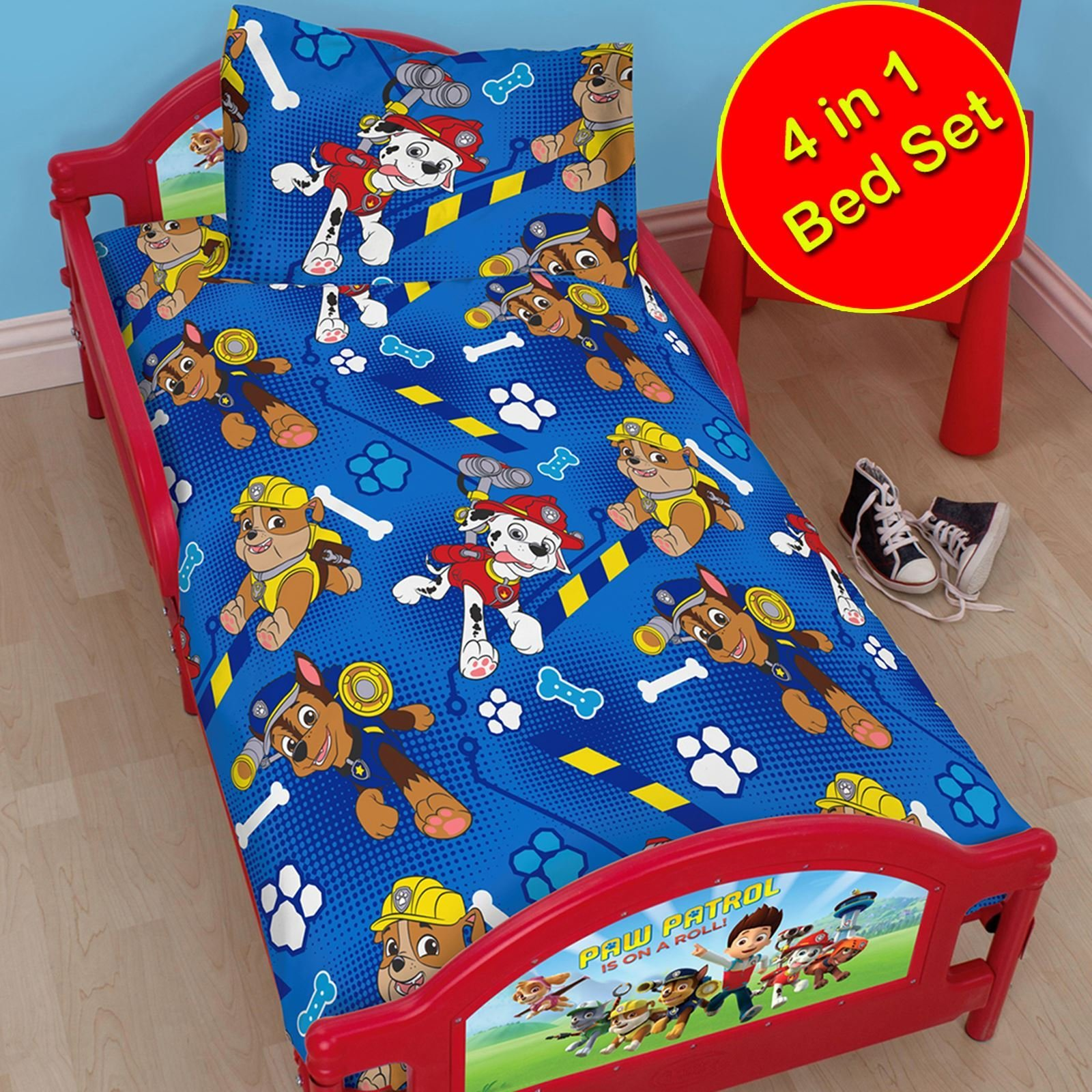 Best Paw Patrol Official Duvet Cover Sets Various Designs Kids Bedroom Bedding New Ebay With Pictures