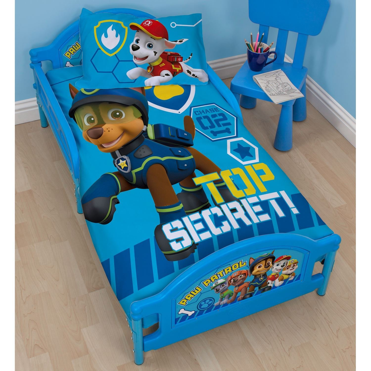 Best Paw Patrol Spy Bedroom Range Duvet Cover Sets Junior Single Double Curtains Ebay With Pictures
