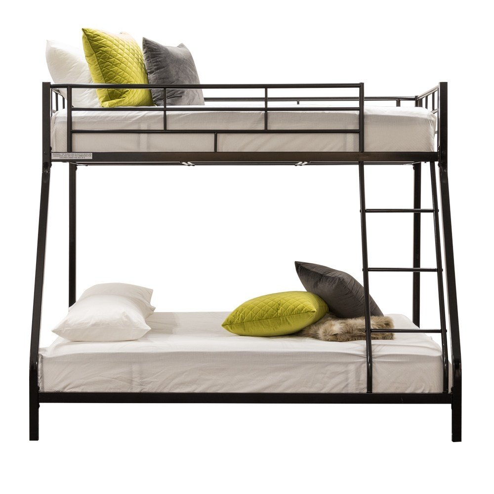 Best Brook Single Double Bunk Bed Black Target Furniture With Pictures