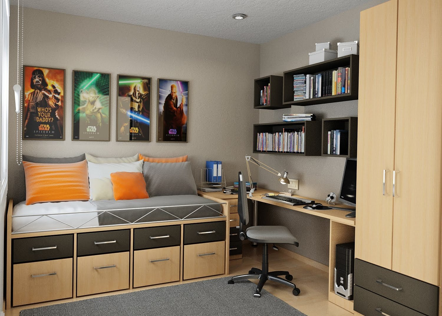 Best Small Bedroom Storage Solutions Designed To Save Up Space With Pictures