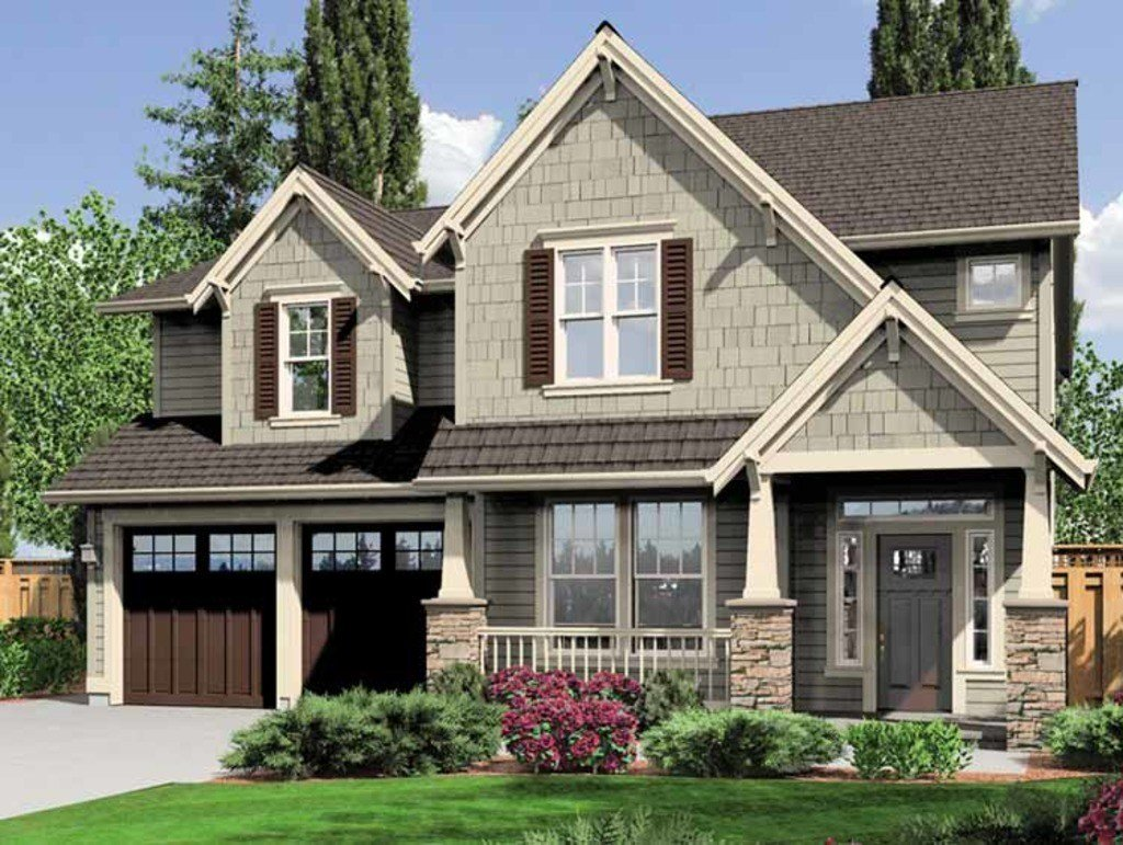 Best Craftsman Style House Plan 4 Beds 2 5 Baths 2470 Sq Ft With Pictures