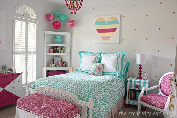 Best Little Girl S Room Revamped To Bright And Bold Tween Room With Pictures