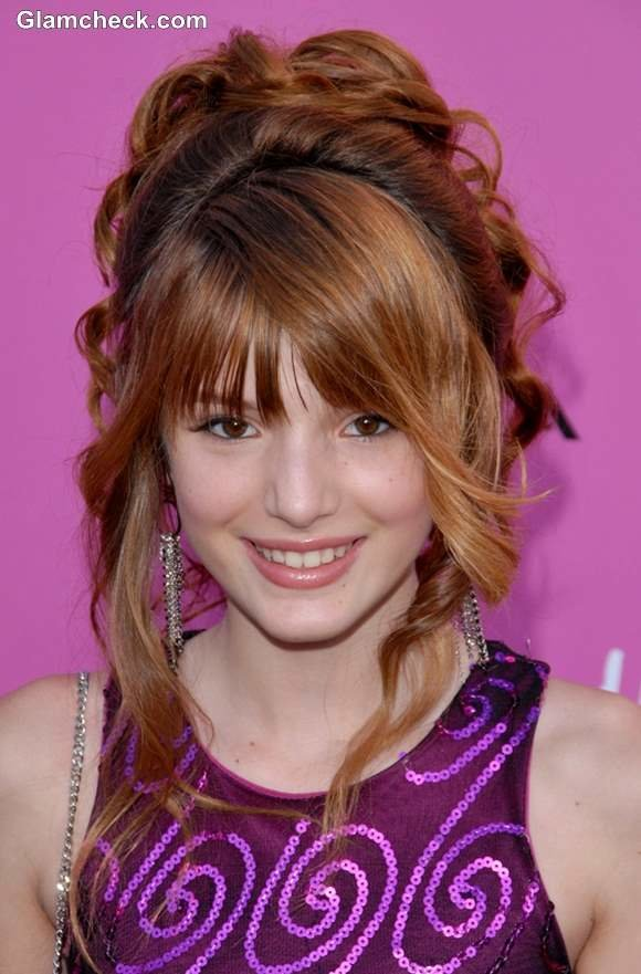 Free Bella Thorne Inspired Fun Hairstyles For Little Teenage Girls Wallpaper