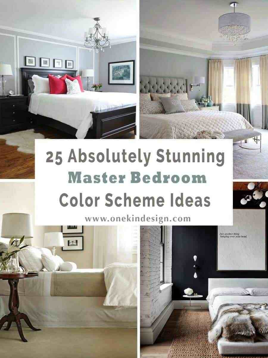 Best 25 Absolutely Stunning Master Bedroom Color Scheme Ideas With Pictures