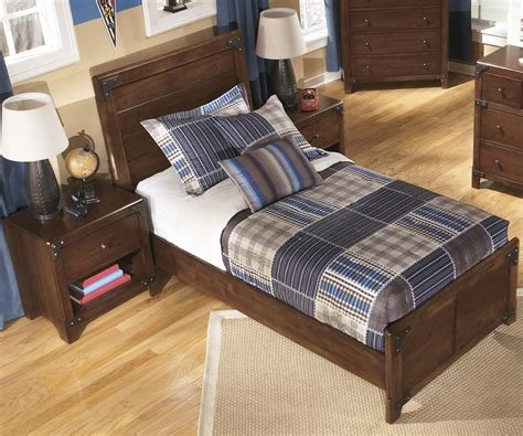 Best Ashley Furniture Delburne Panel Bed Boys Bedroom Furniture Bed Children S B362 Twin Size Bed With Pictures