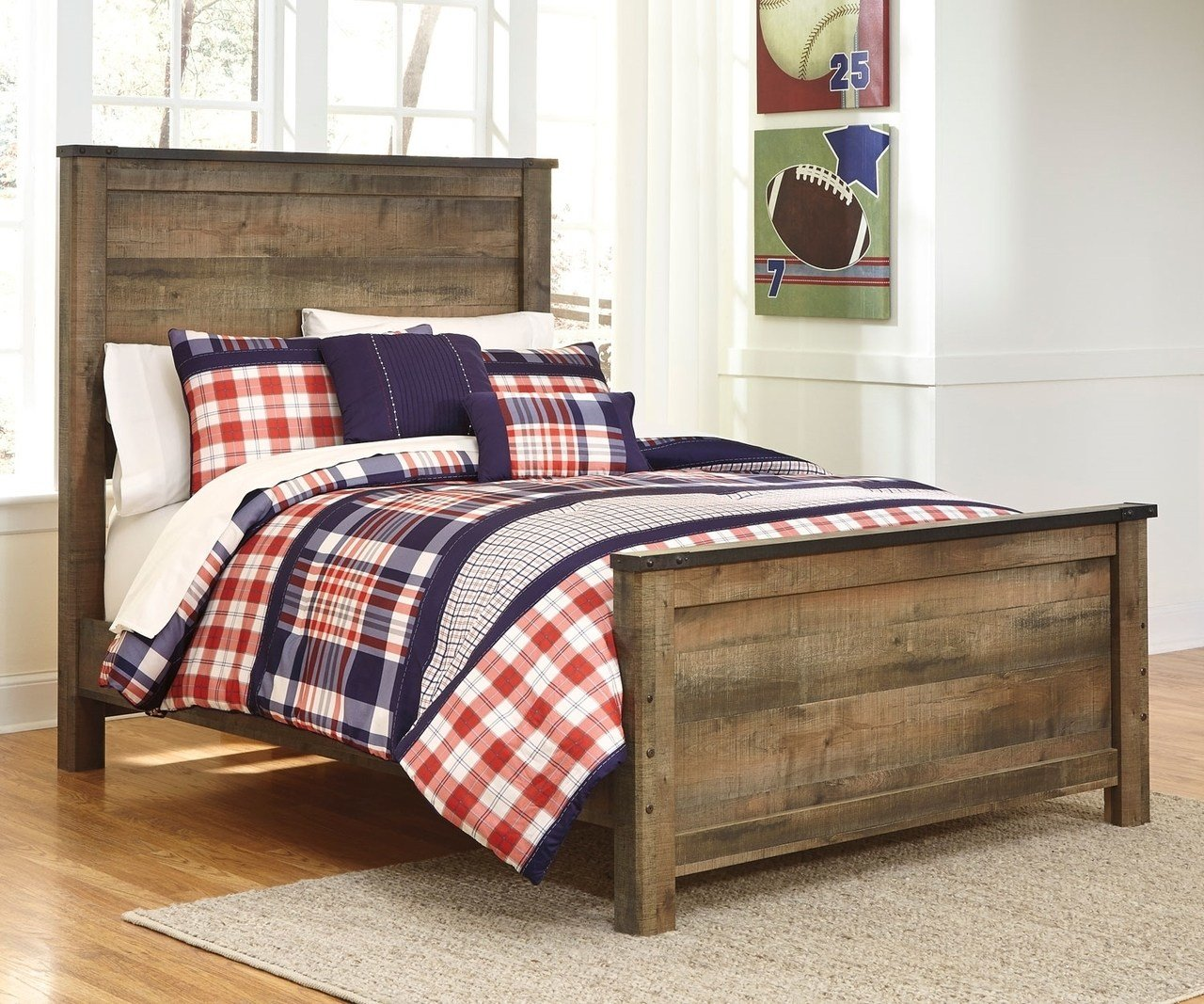 Best Trinell B446 Full Size Panel Bed Ashley Kids Furniture With Pictures