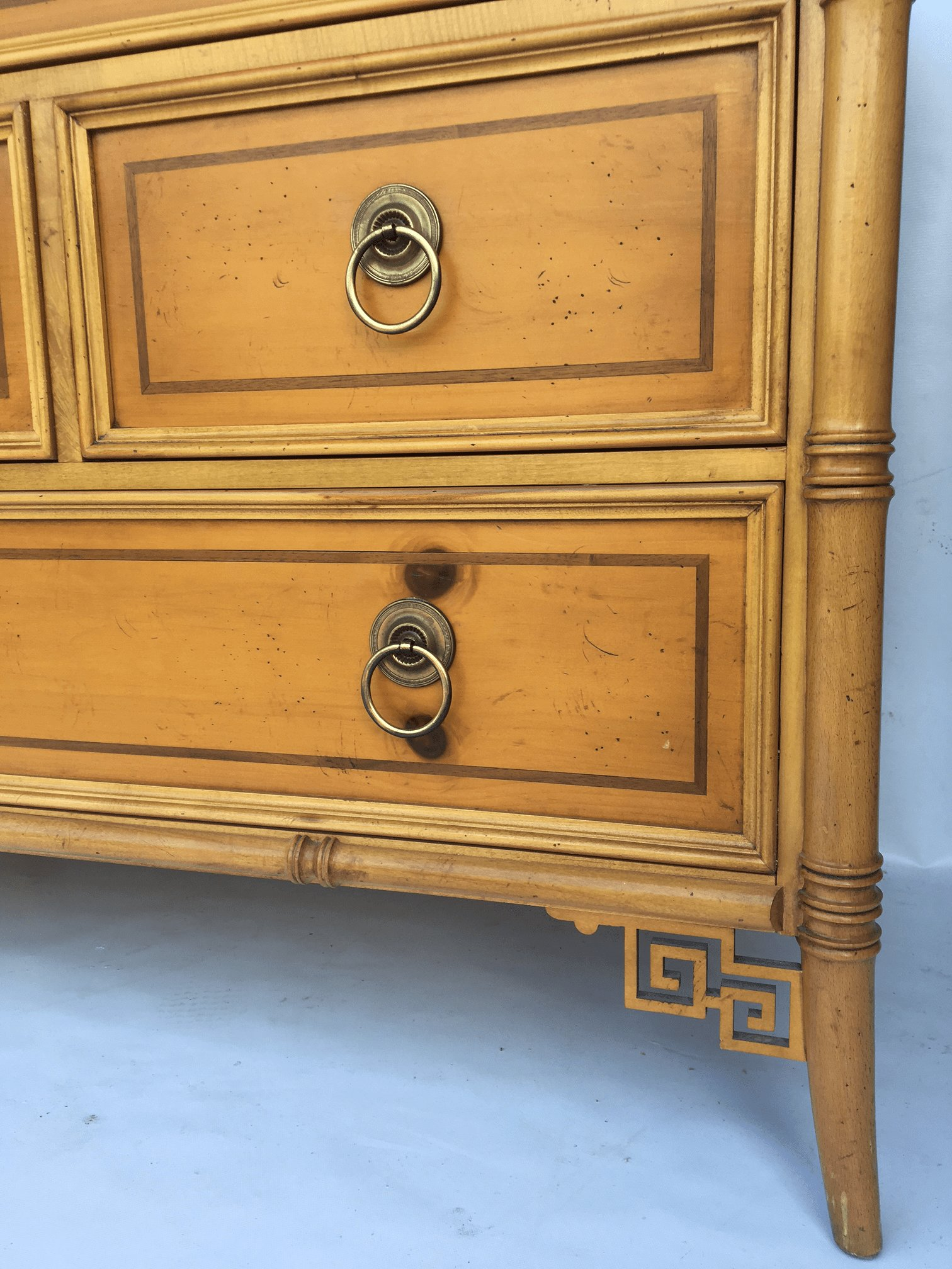 Best Baker Furniture Chinese Chippendale Bamboo Dresser Chairish With Pictures