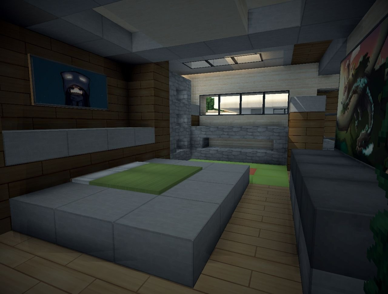 Best Modern Villa Minecraft Project With Pictures