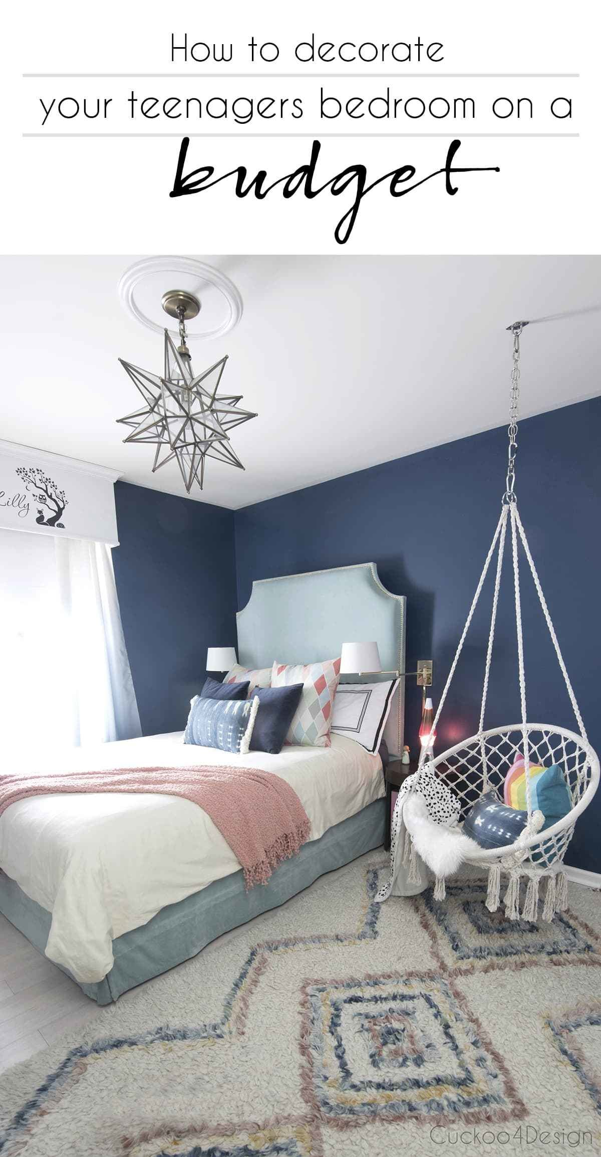 Best How To Decorate Your Teenagers Bedroom On A Budget With Pictures