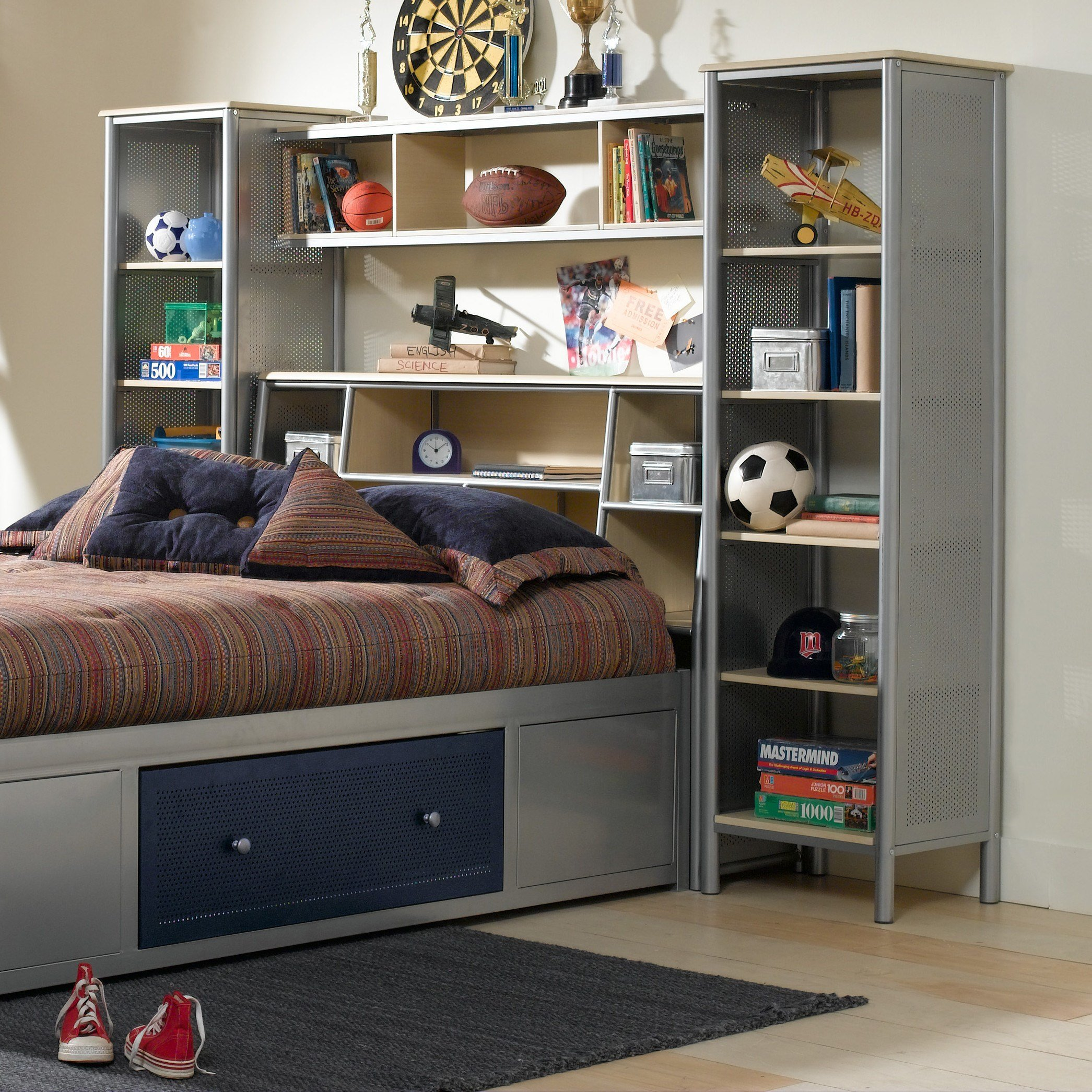 Best Hillsdale Universal Youth Platform 3 Piece Bedroom Shelf With Pictures