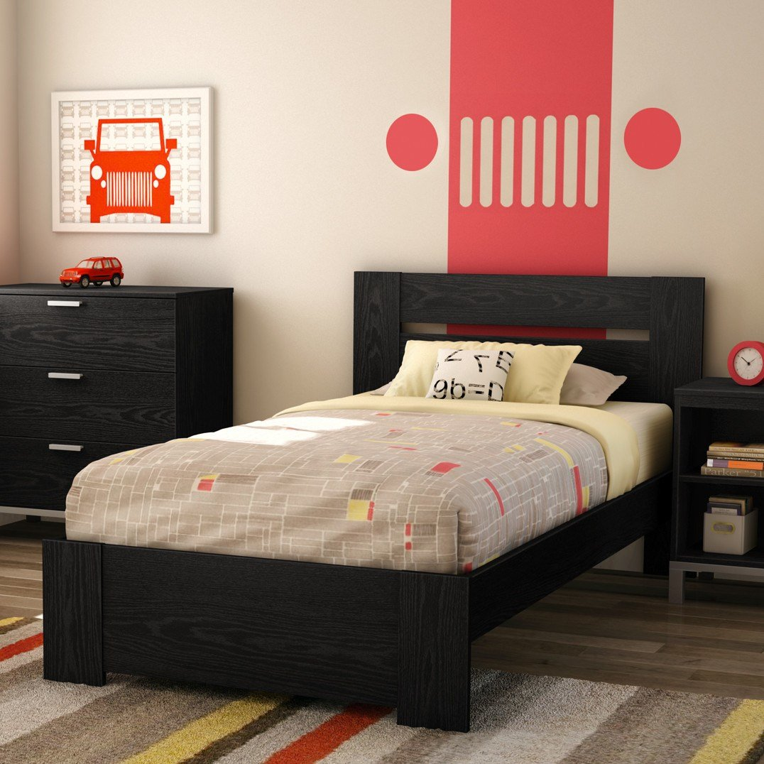 Best South Shore Flexible Twin Panel Customizable Bedroom Set With Pictures
