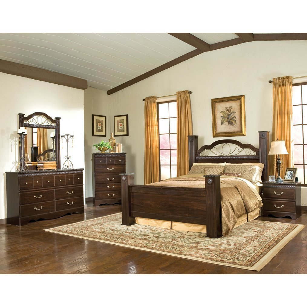 Best Standard Furniture Sorrento Panel Customizable Bedroom Set With Pictures