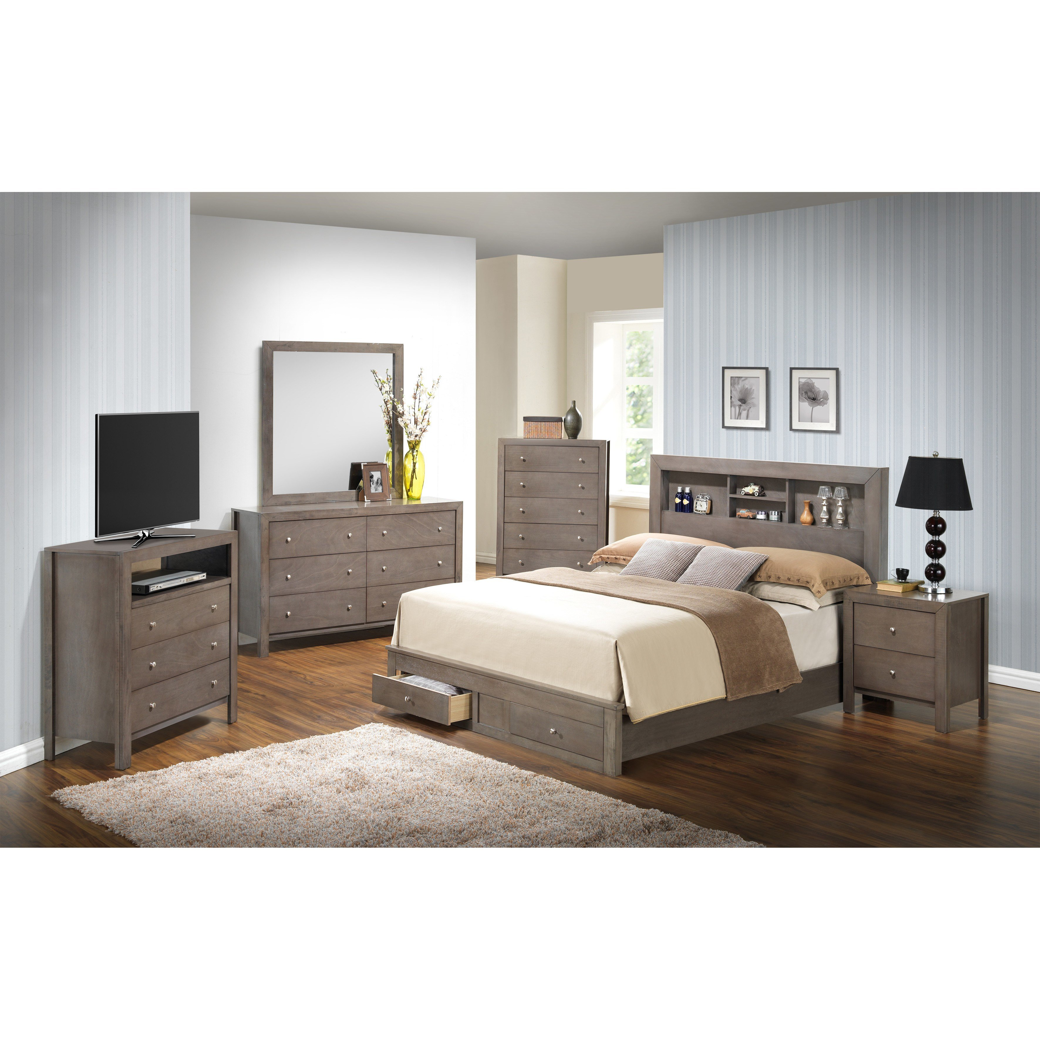 Best Glory Furniture Storage Panel Customizable Bedroom Set With Pictures