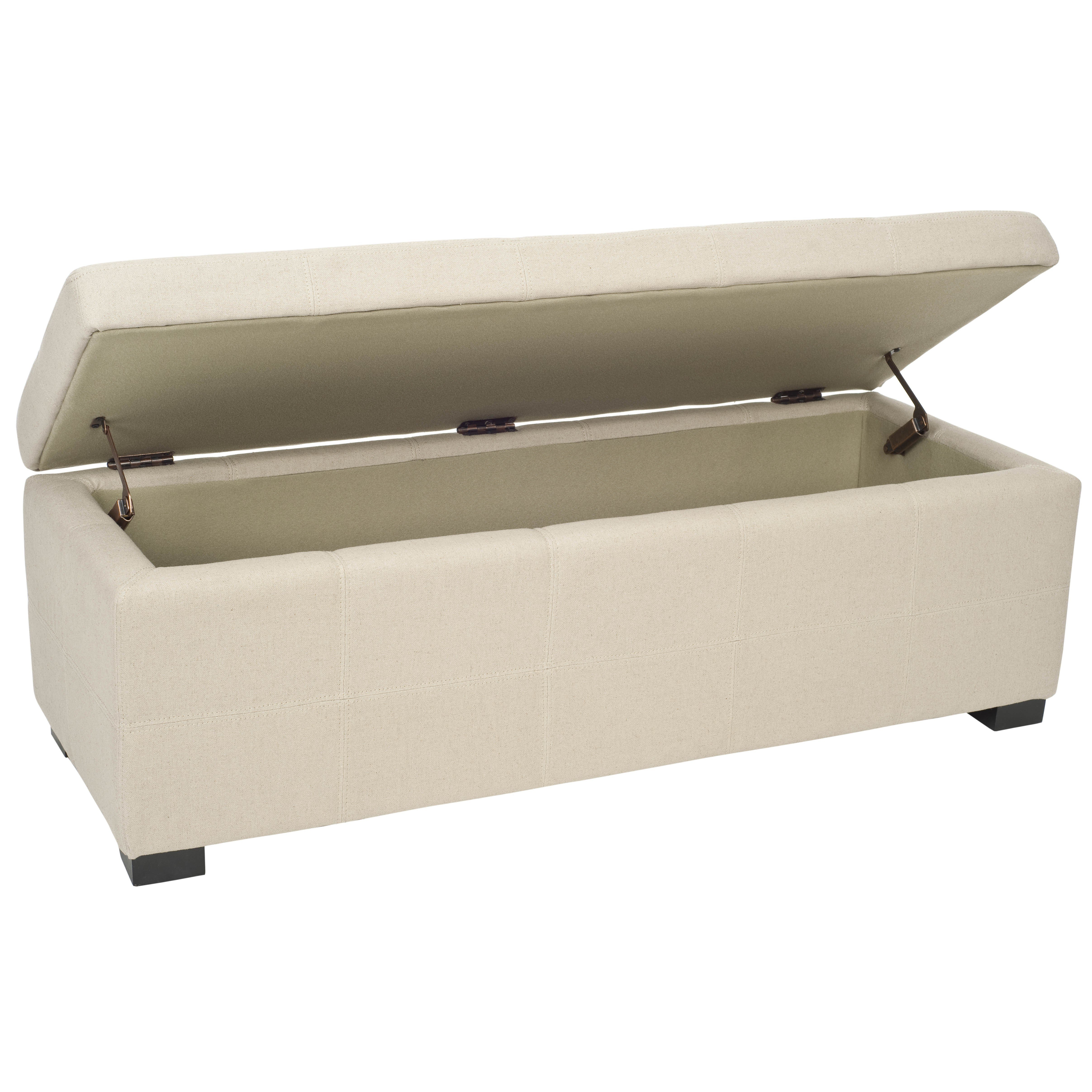 Best Darby Home Co Henrickson Wood Storage Bedroom Bench Reviews Wayfair With Pictures