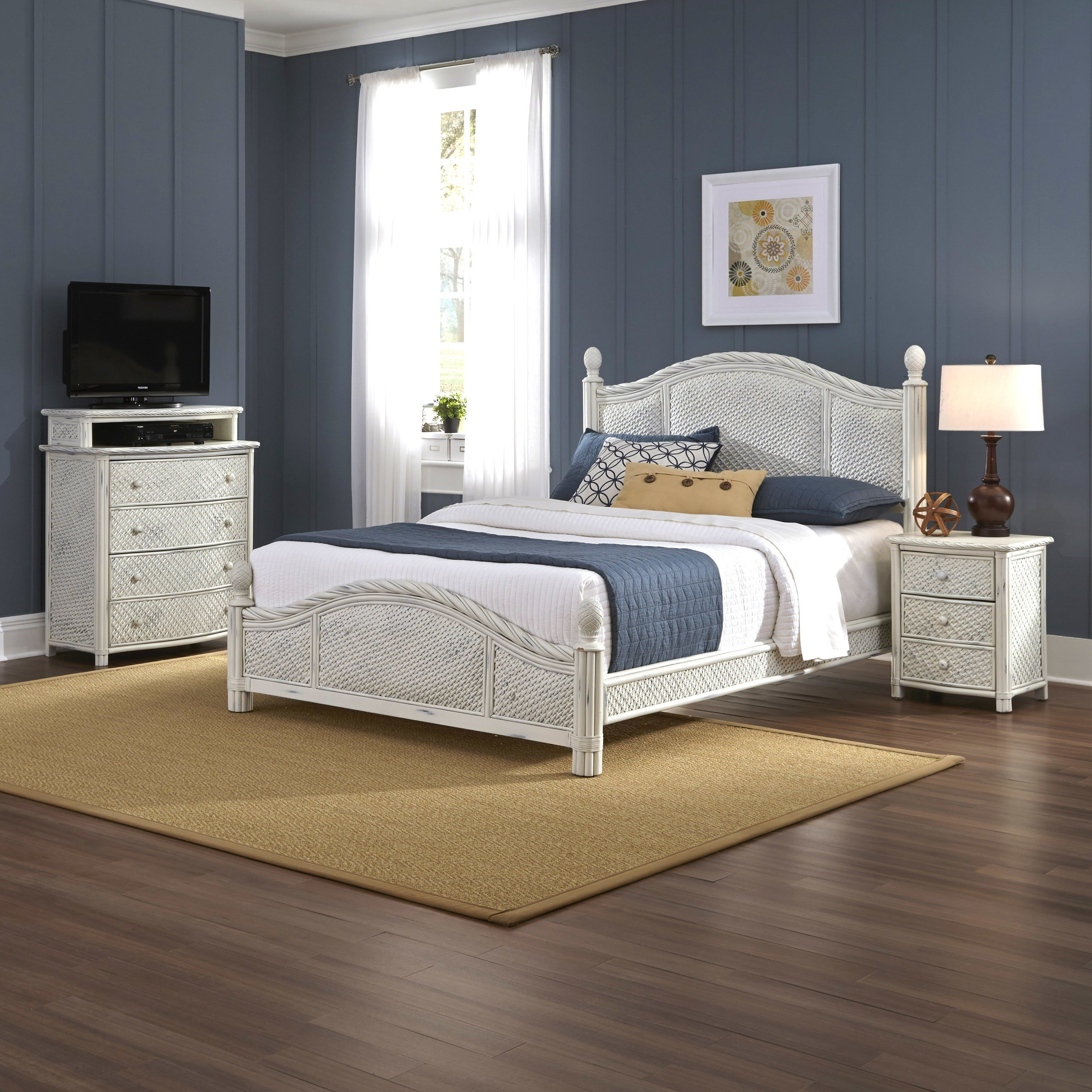Best Bay Isle Home Oliver Panel 3 Piece Bedroom Set Reviews With Pictures