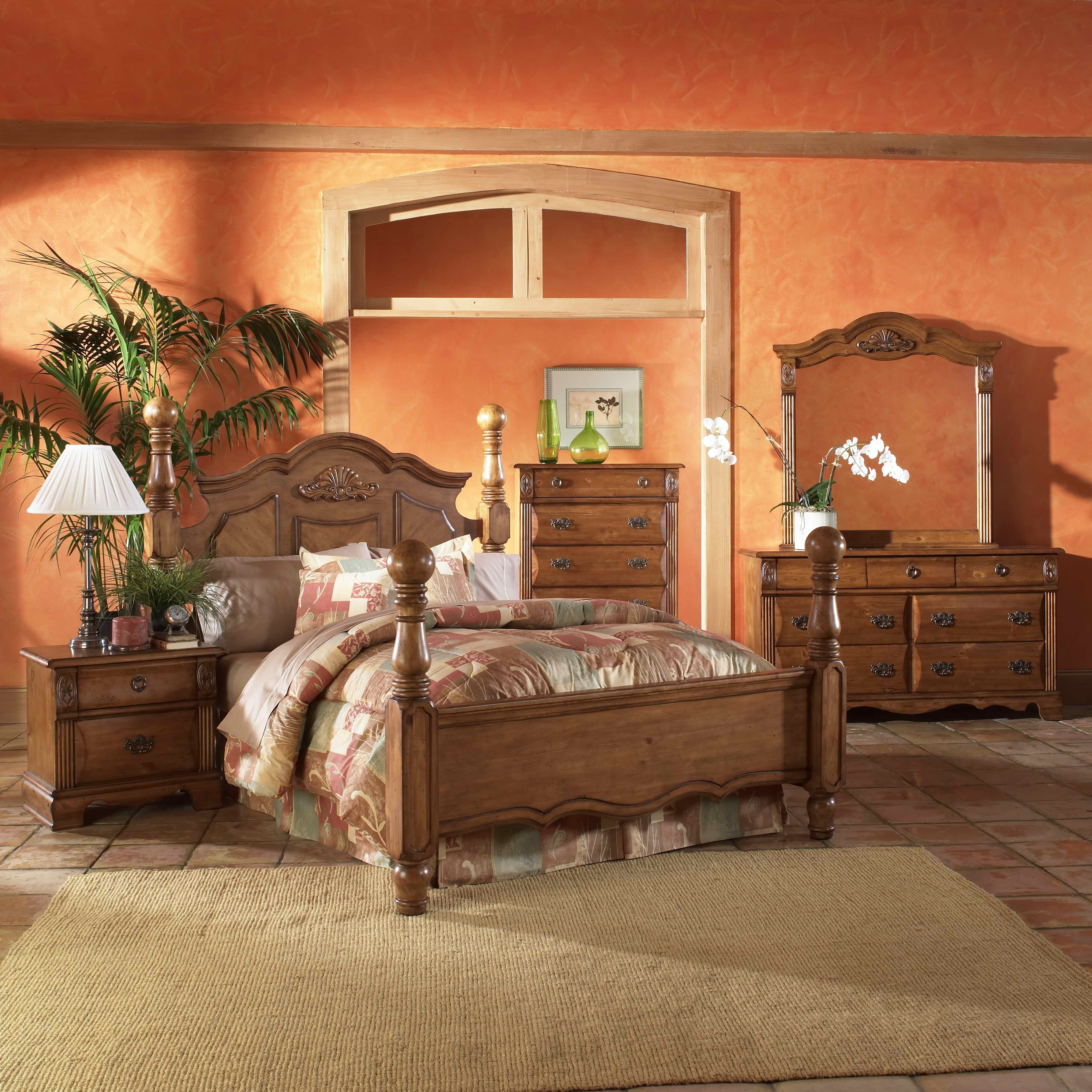 Best Picket House Furnishings Bella Four Poster Customizable With Pictures