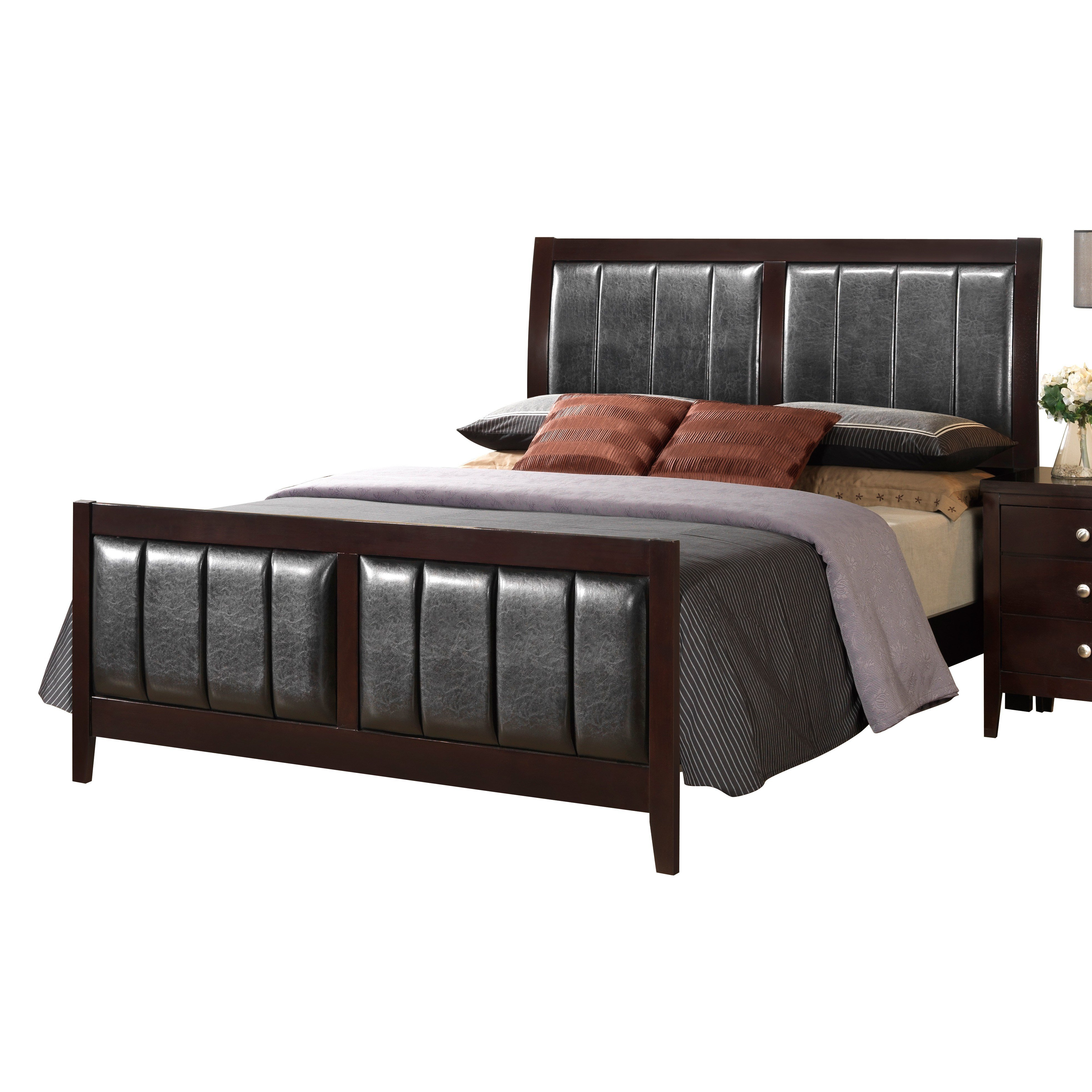 Best Global Furniture Usa Rosa Panel Bed Customizable Bedroom With Pictures