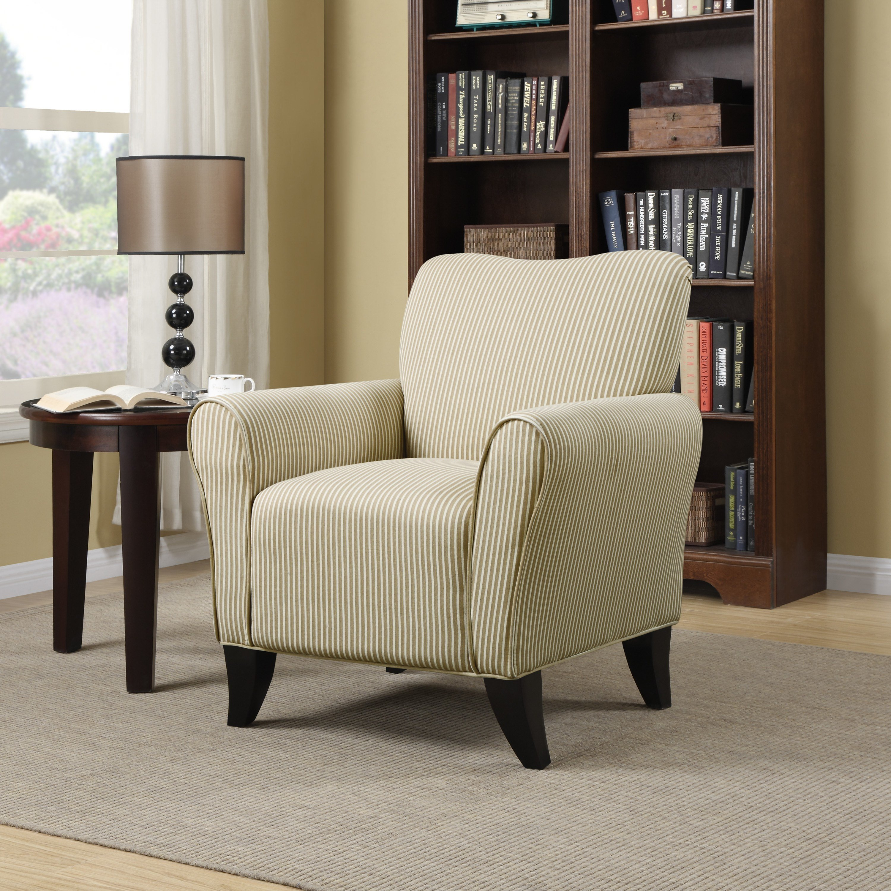 Best Handy Living Sasha Arm Chair Reviews Wayfair With Pictures