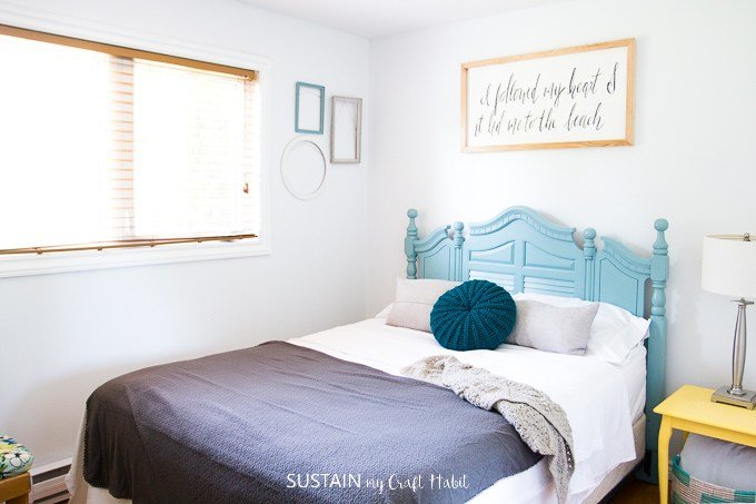Best Beach Themed Bedrooms Lakeside Room Reveal – Sustain My With Pictures