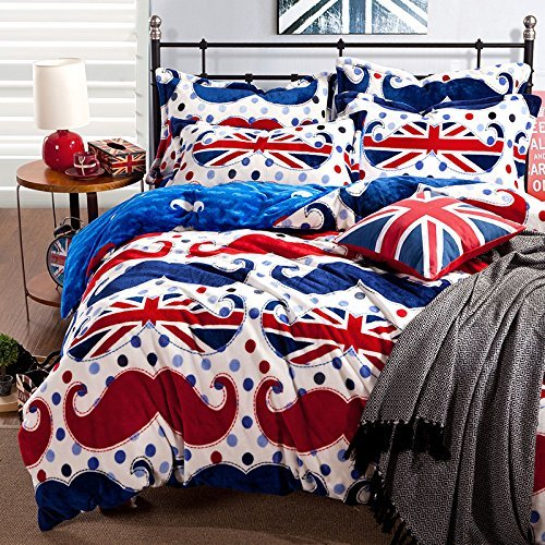 Best Mustache Comforters Bedding Sets And Decor With Pictures