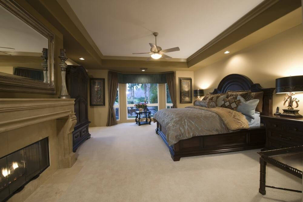 Best 44 Stylish Master Bedrooms With Carpet With Pictures