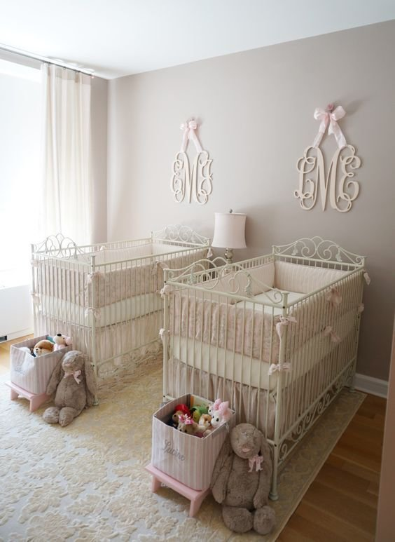 Best 15 Twin Baby Girl Room Ideas With Pictures