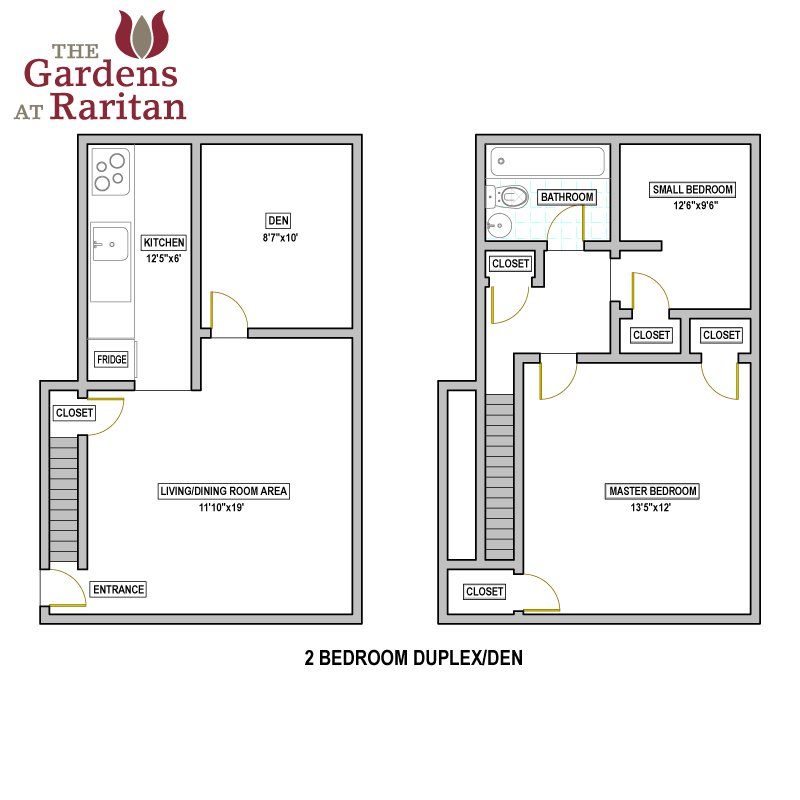 Best Availability Floorplans The Gardens At Raritan With Pictures