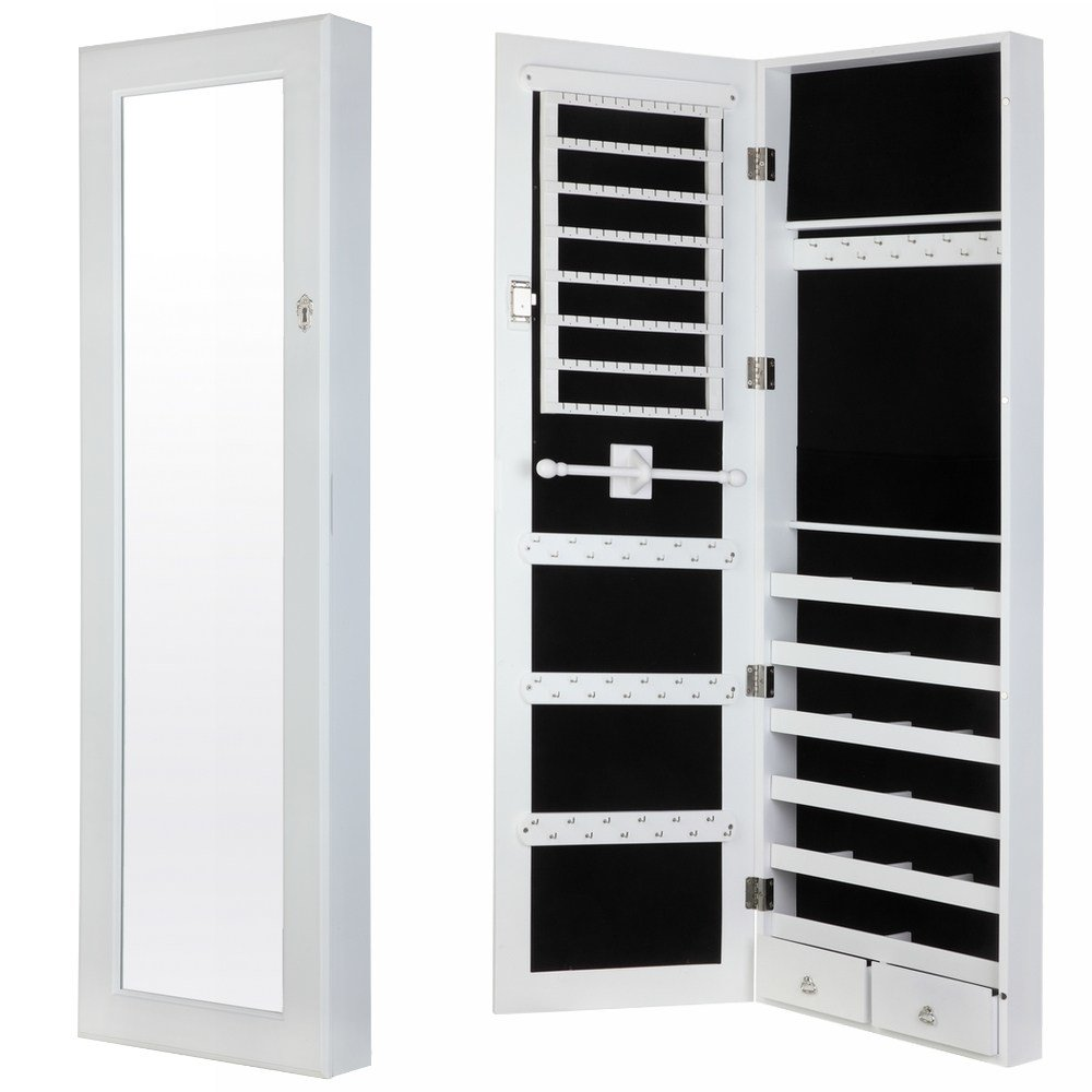 Best Homegear Modern Wall Mounted Jewellery Cabinet Full With Pictures
