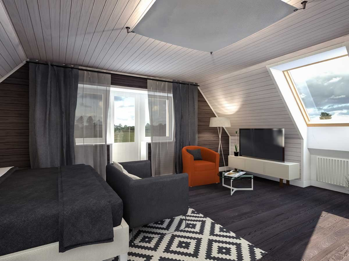Best Convert Attic To Bedroom Project Template Homezada With Pictures