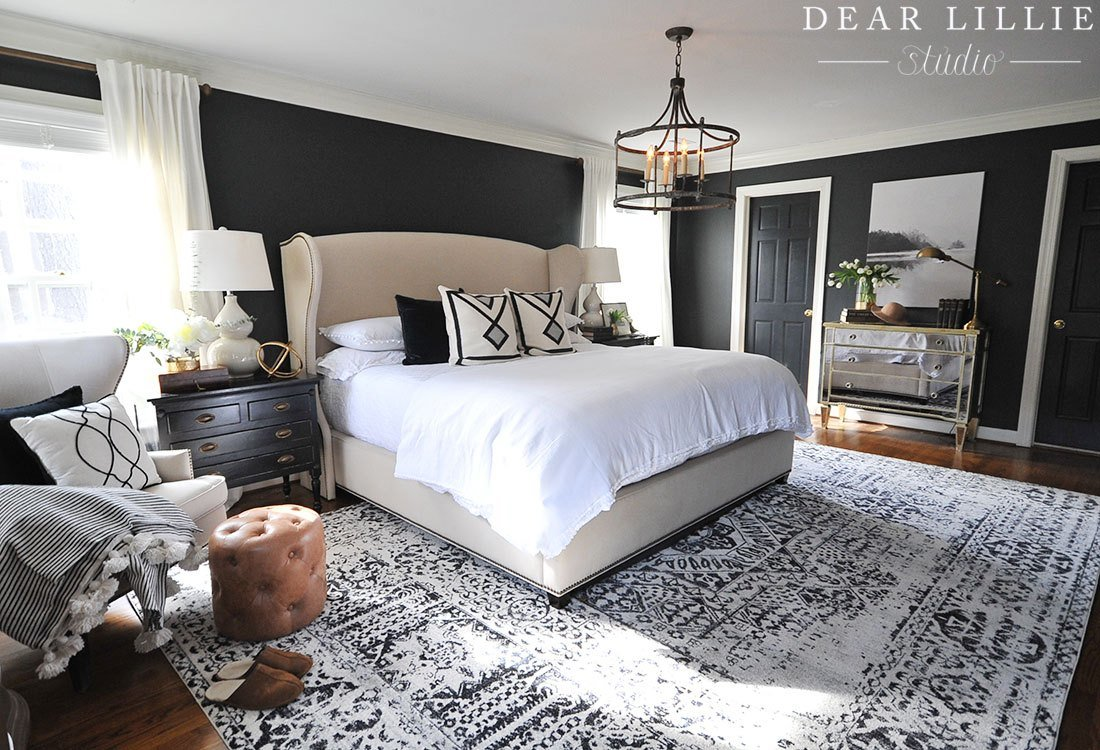 Best A New Rug And Artwork For Our Master Bedroom Dear Lillie With Pictures