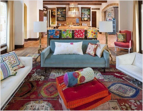 Best Floor Cushions In The Interior 25 Cool Ideas In Different Styles With Pictures