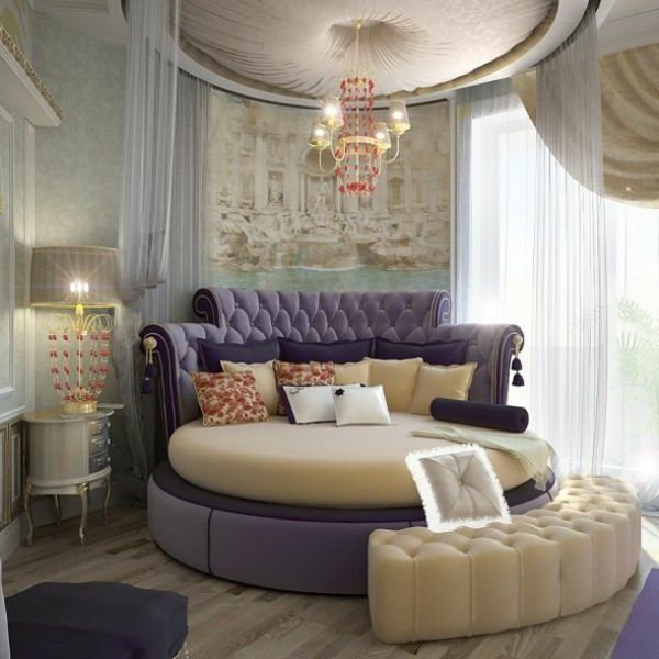 Best 40 Round Bed Ideas – An Exciting Atmosphere In The Bedroom With Pictures