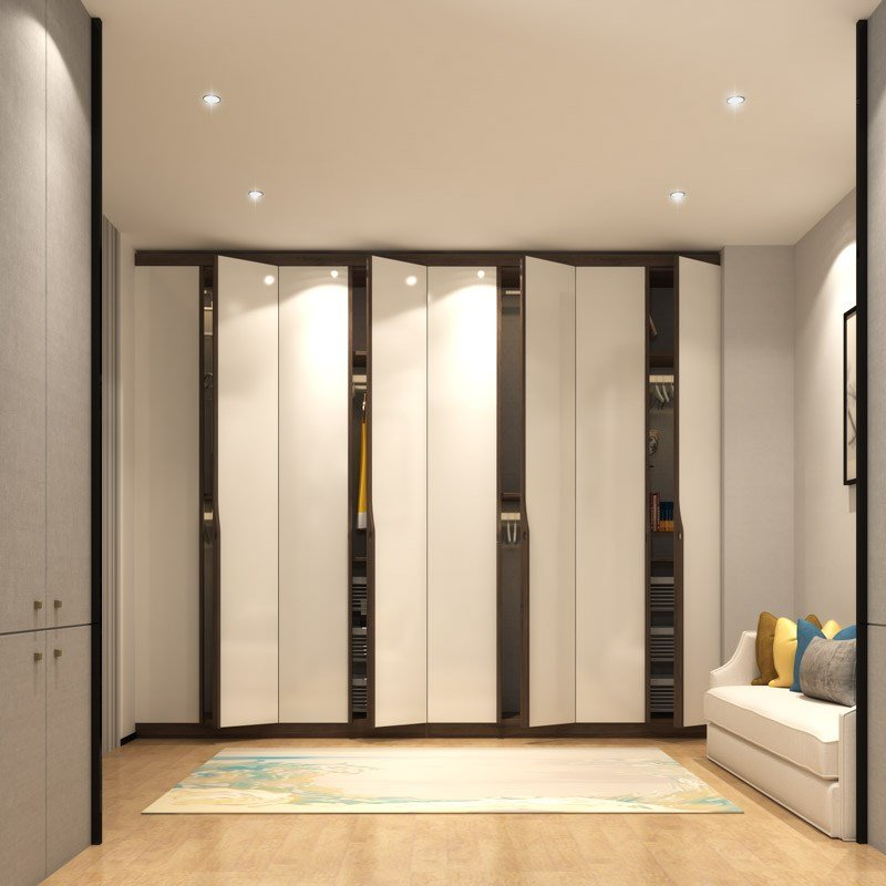Best 7 Latest Modern Bedroom Cupboard Design With 3D Views With Pictures