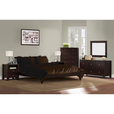 Best Dayton 6 Piece Bedroom Set Coffee Queen Lifestyle With Pictures