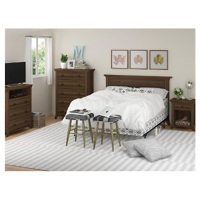 Best Oakridge Bedroom Furniture Collection Ameriwood Home With Pictures