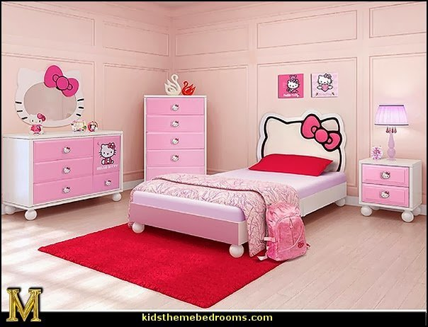 Best Decorating Theme Bedrooms Maries Manor Hello Kitty Bedroom Ideas Hello Kitty Bedroom Decor With Pictures