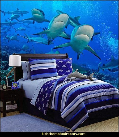 Best Decorating Theme Bedrooms Maries Manor Shark Bedrooms With Pictures