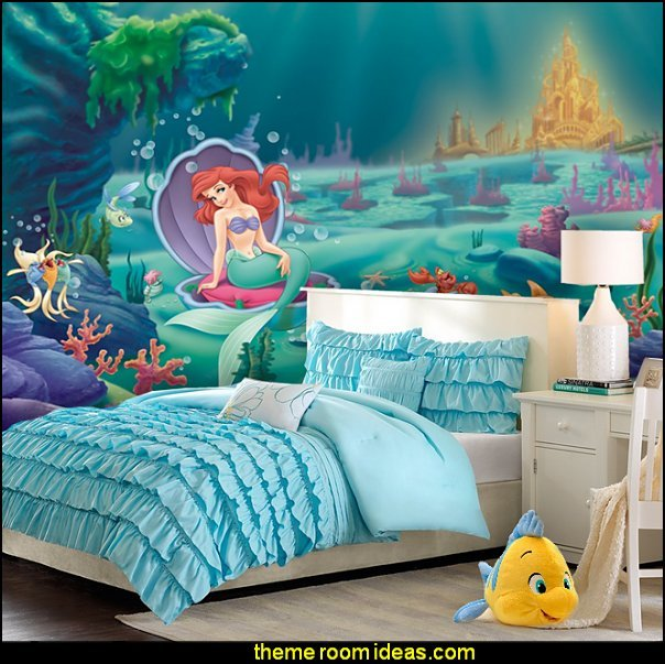 Best Decorating Theme Bedrooms Maries Manor Little Mermaid Ariel Theme Bedroom Mermaid Decor With Pictures
