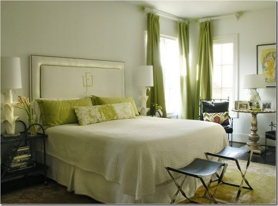 Best 50 Gorgeous Green And White Bedrooms The Glam Pad With Pictures