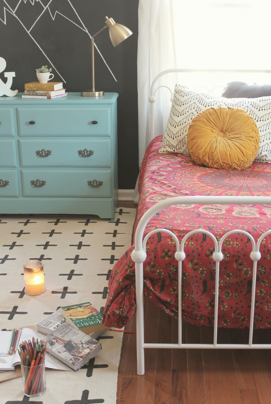 Best The Little Farm Diary T**N Girls Room Reveal A Boho With Pictures