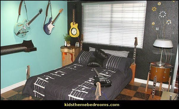 Best Decorating Theme Bedrooms Maries Manor Music Bedroom Decorating Ideas Rock Star Bedrooms With Pictures