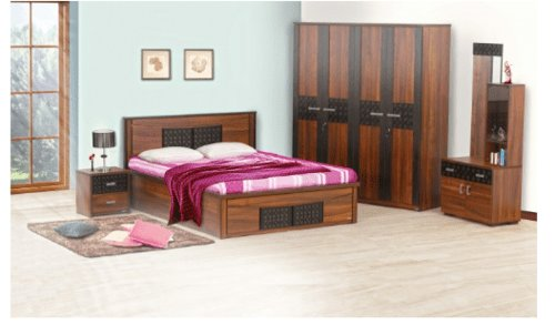 Best Carvin 4 Piece Bedroom Set At Rs 100501 Set Nagole With Pictures
