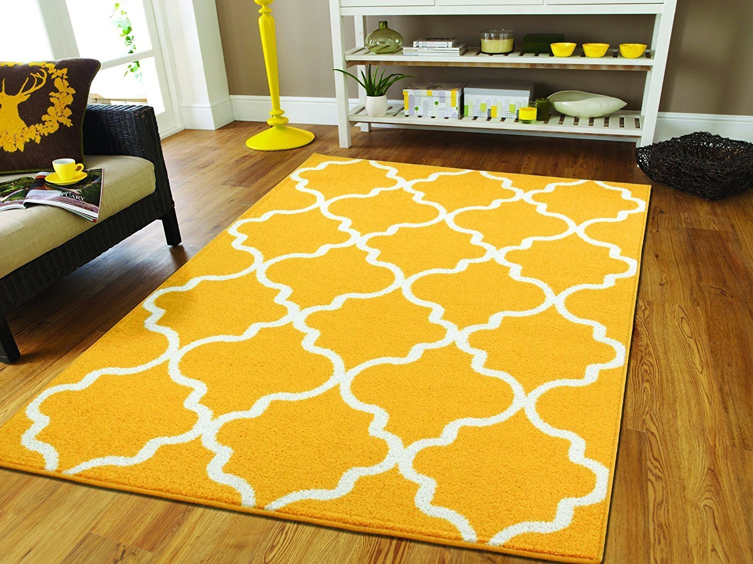Best Awesome Yellow Contemporary Rug — All Contemporary Design With Pictures