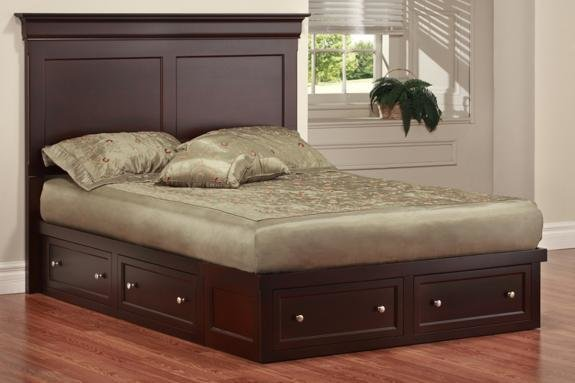 Best Phillipe King Condo Bed Bedroom Furniture Fine Oak Things With Pictures