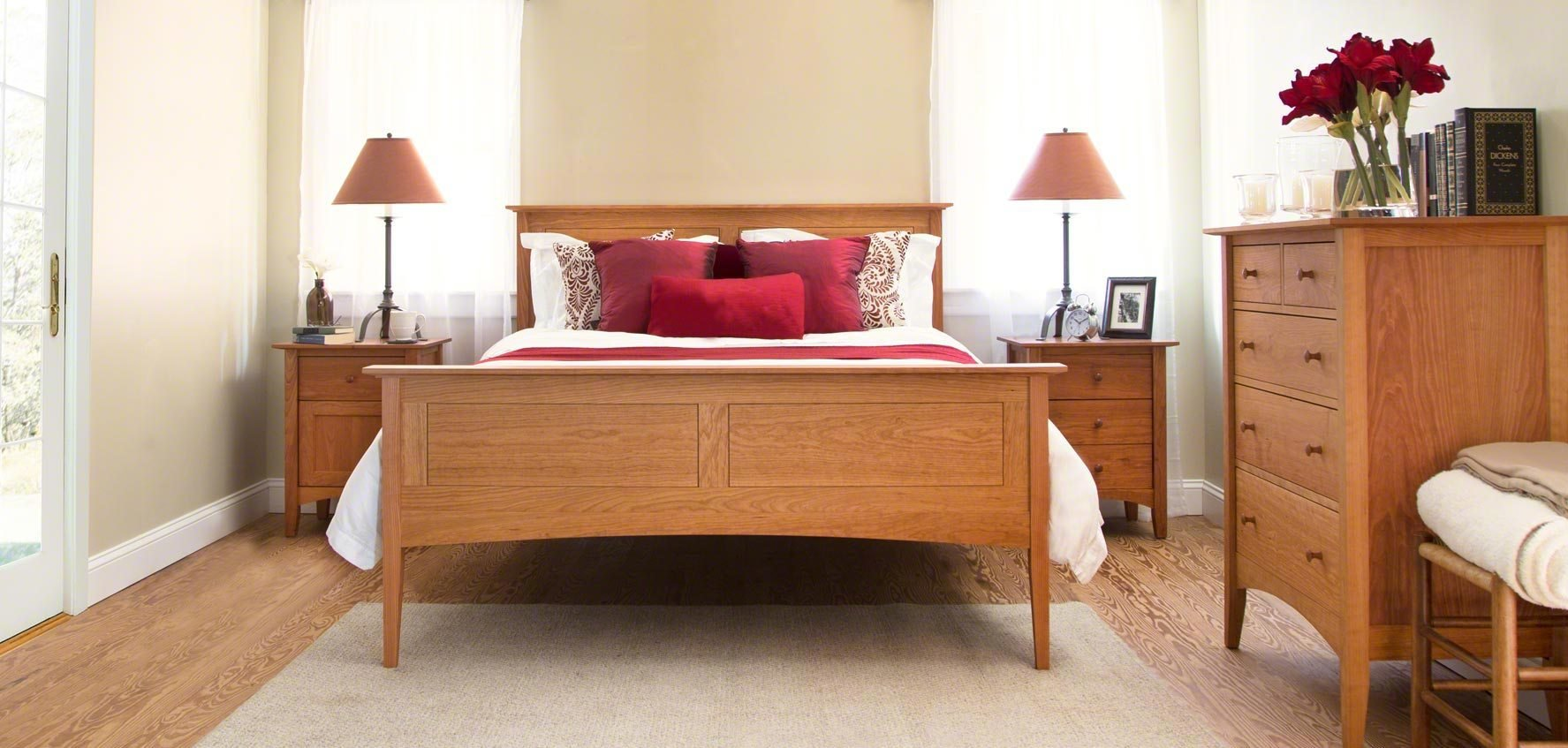 Best Handcrafted Wood Beds Vermont Woods Studios With Pictures